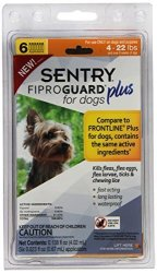 Sentry Fiproguard Plus Flea And Tick Topical For Dogs 4-22 Lbs