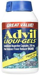 Advil Liqui-gels 200MG - 200 Liquid Filled Capsules