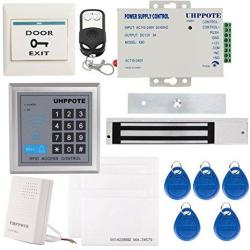 Uhppote Full Complete 125KHZ Em-id Card 1 Door Security Access Control Entry System Kit With Electric 600LBS 280KG Force Magneti
