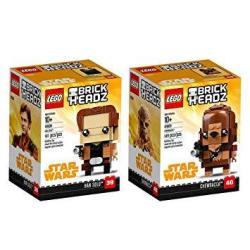 Lego Brickheadz Han Solo & Chewbacca Bundle Solo: A Star Wars Story