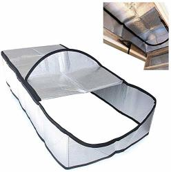 Attic Stairway Cover Attic Stairs Insulation Tent With Easy Access Zipper 25 X 54 X 11 Inches Attic Door Cover Stairway Insulator Heat Resistant Energy Saving
