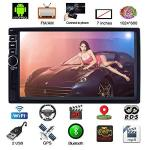 Upgraded 7 Inch Touch Screen Android 7.1 Quadcore Cpu Double Din Car Stereo In Dash Gps Navigation Surport Bluetooth Wifi Car Ra
