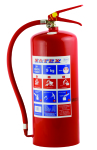 Fragram 9kg Fire Extinguisher - Red
