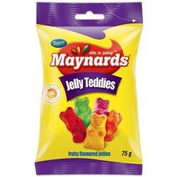 Maynards Sweets Packet Jelly Teddies 75 G