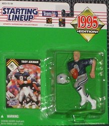 Kenner 1995 Troy Aikman Nfl Starting Lineup Figure