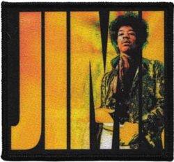 C&D Visionary Inc. Application Jimi Hendrix Logo Patch