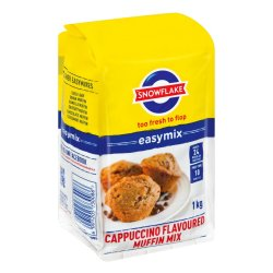 Snowflake - Easymix Muffin Mix Cappuccino Packet 1KG Lavoured