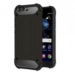 Tuff-Luv Tough Armor Combination Case for Huawei P10 Plus in Black