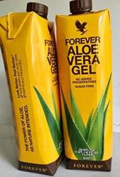 Forever Aloe Vera Gel New Product. Pack Of 2
