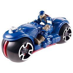 Mattel Marvel Avengers Age Of Ultron Captain America Diecast Car By