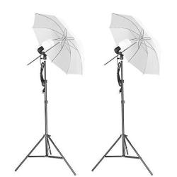 Emart Photography Umbrella Lighting Kit 500W 5500K Continuous LED Camera Lights For Photo Portrait Studio Video Shooting Equipme