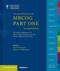 Mrcog Part One Part 1 - Your Essential Revision Guide Paperback 2nd Revised Edition