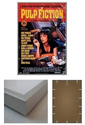 """POSTER STOP ONLINE Pulp Fiction - Framed Movie Poster Print Regular Style Size: 24"""" X 36"""" By"""