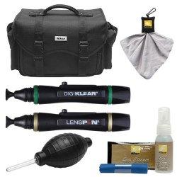 Nikon 5874 Digital Slr Camera Case - Gadget Bag With Cleaning Kit For D3300  D3400 D5500 D5600 D7200 D7500 D610 D750 D810 D850 D5   R2745 00   Handheld