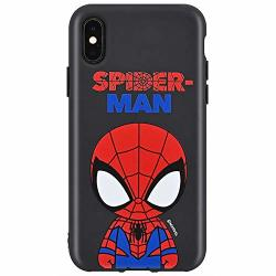Black Cutie Jelly Case With Avengers Character For Samsung Galaxy S20 Spider Man