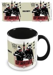 Call Of Duty - Black Ops Cold War Operative Black Mug