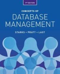 Concepts Of Database Management Paperback 9TH Edition