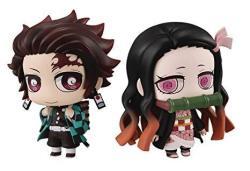 Megahouse Demon Slayer: Kimetsu No Yaiba: Chimi-mega Kamado & Nezuko Buddy Series 2PIECE Figure Set