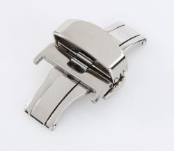 20MM Deployant Clasp buckle With Double Push Button Release