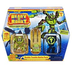 MGA Entertainment Pop Bot READY2ROBOT-BATTLE Pack Double Trouble