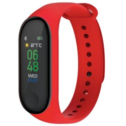 Volkano Active Tech Core Series Fitness Bracelet With Heart Rate Monitor