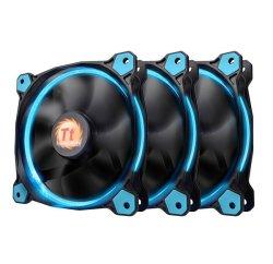 Thermaltake Tt Fan Ring 12 Led Radiator 3 Pack Blue