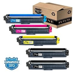 5PK Compatible TN221 TN225 Toner Cartridge Replacement For Brother HL-3140CW HL-3170CDW HL-3180CDW MFC-9130CW MFC-9330CDW MFC-9340CDW Laser Printer 5PACK BBCMY By Futune