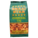 Braaistar - Charcoal 3KG