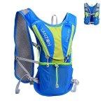 LANZON 2L 2 Liter Hydration Pack Running Vest Blue - No Bladder