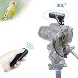 Foto&Tech 360 Any Angle Wireless Remote Shutter Release Working 100M Compatible With Fujifilm X-A5 X-H1 X-E3 A3 A10 Gfx 50S X-PR