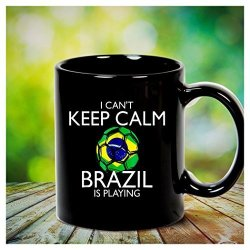 Brazil Football Jersey 2018 Soccer Mug
