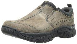 Skechers Sport Men's Rig Mountain Top Relaxed Fit Memory Foam Sneaker Brown 11 M Us