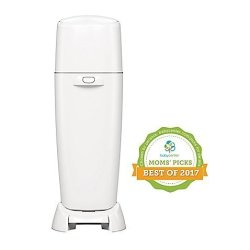 Playtex Baby Diaper Genie X3000404 Complete Diaper Pail In White Includes Carbon Filter Helps Fight Odors