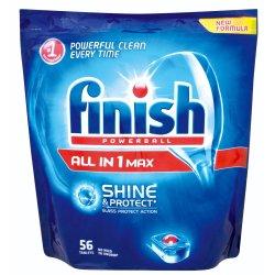 Finish Dishwashing Tabs Powerball Regular 56 Pk