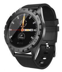 "Astrum SW400 IP67 1.23"" Hr Bp Bo Call Gps Black Smart Watch"