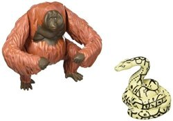 Just Play Disney Jungle Book King Louie And Kaa Action Figures 2 Pack