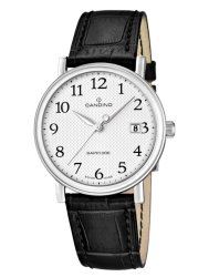 Candino Swiss Made Mens Leather Watch - Gents Classic Timeless Collection