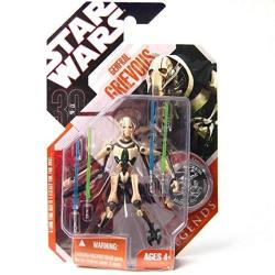 """Star Wars 3 3 4"""" General Grievous 4 Lightsabers 4 Arms Action Figure"""