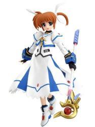 Max Factory Magical Girl Lyrical Nanoha: Nanoha Takamachi The Movie 1ST Ver. Figma Action Figure