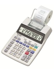 Sharp EL1750 Print Calculator