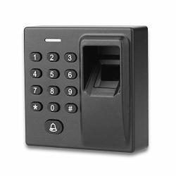 Access Control System Biometric Fingerprint Recognization Rfid Card Password Backlight Keypad Control Syetem