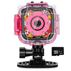 1b44a5791e2e IMoway Waterproof Camera For Kids HD 1080P Kids Video Camera With 8GB  Memory Card Pink | R | Handheld Electronics | PriceCheck SA