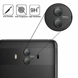 For Huawei Mate 10 Pro Tempered Glass Camera Lens Film 2 Pack Mate 10 Pro 2.5D Tempered Glass Back Camera Lens Protector High Cl