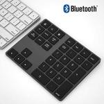 Bluetooth Number Pad Wireless Numeric Keypad Functional Shortcut Keys Widely Compatible Ergonomic And User-friendly Design Sturd