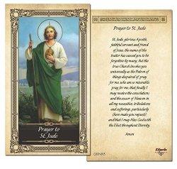 ShopCatholic Prayer To St. Jude Prayer Card - Single Card