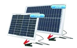 12V 20W Portable Solar Charger 576X357X30MM Acdc Solar Battery Chargers