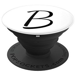 The Letter B Initial And Monogram