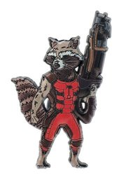 Monogram International Marvel Guardians Of The Galaxy Rocket Raccoon Pvc Magnet