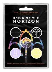 Me Bring The Horizon - That's The Spirit Button Badge Pack