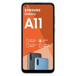 Samsung Galaxy A11 Dual Sim Blue SM-A115FZBDXFA